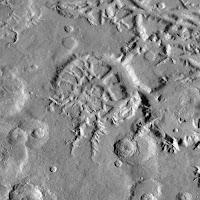 تشكيل يعرف بمدينة النجمة فوق سطح المريخ