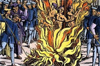 كانت عقوبة من يمارس السحر الإعدام حرقاً على الأعواد
