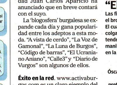 La Palabra de Burgos - 22/03/07