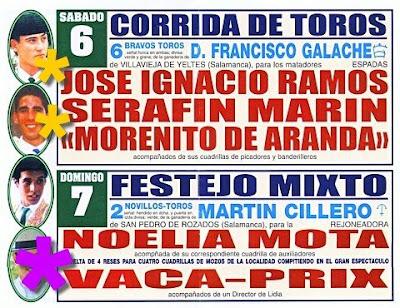 Feria de Lerma. Septiembre 2008.