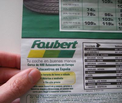 ¿Es Faubert o Feuvert?