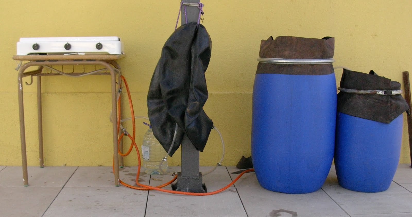 Biodigestores e insecticidas502 biodigestor casero - Plastico inyectado casero ...