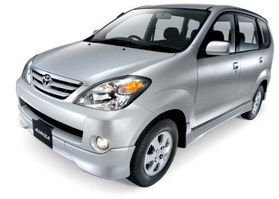 Toyota Avanza Price in the Philippines (as of December 2011)