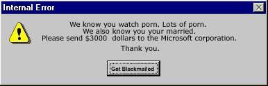 worlds funniest windows error messages techsource