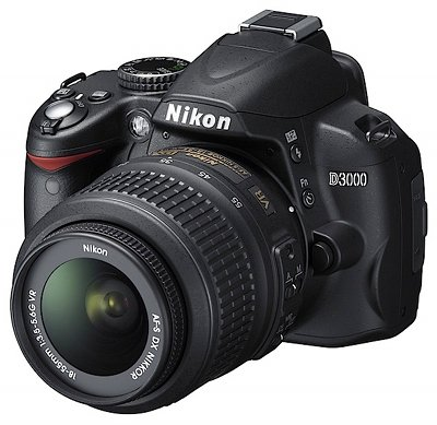 Nikon D3000 DSLR Camera Features and Tech Specs: