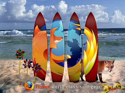 FxSurf 25 fondos de escritorio de Firefox