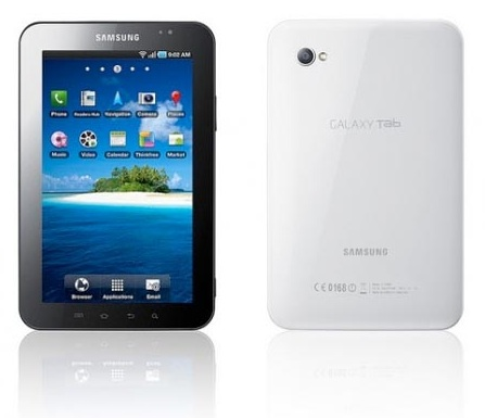 Samsung Galaxy Tab Tablet Computer Technical Specifications and
