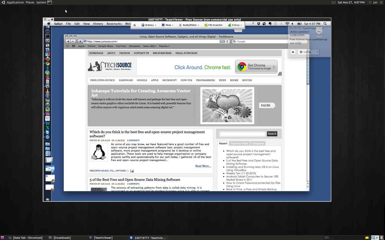 download teamviewer 11 for linux