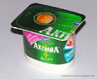 Натуральный йогурт Activia