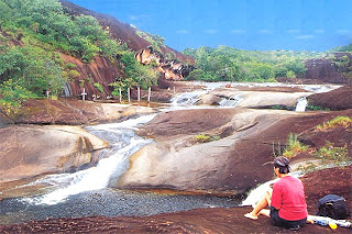 The scenery of Makong River