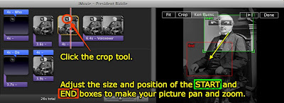 how to add black bars in imovie