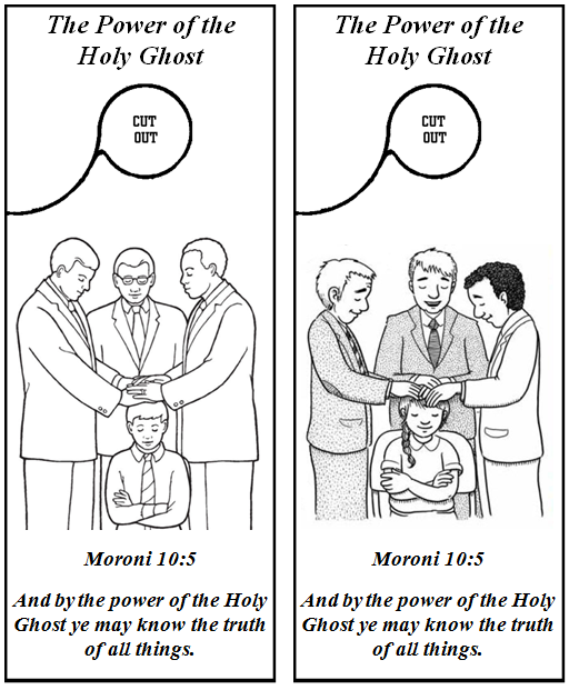 Emma 39 s place the holy ghost helps us know the truth for Lds holy ghost coloring page