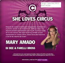 Viernes 14: She Love Circus