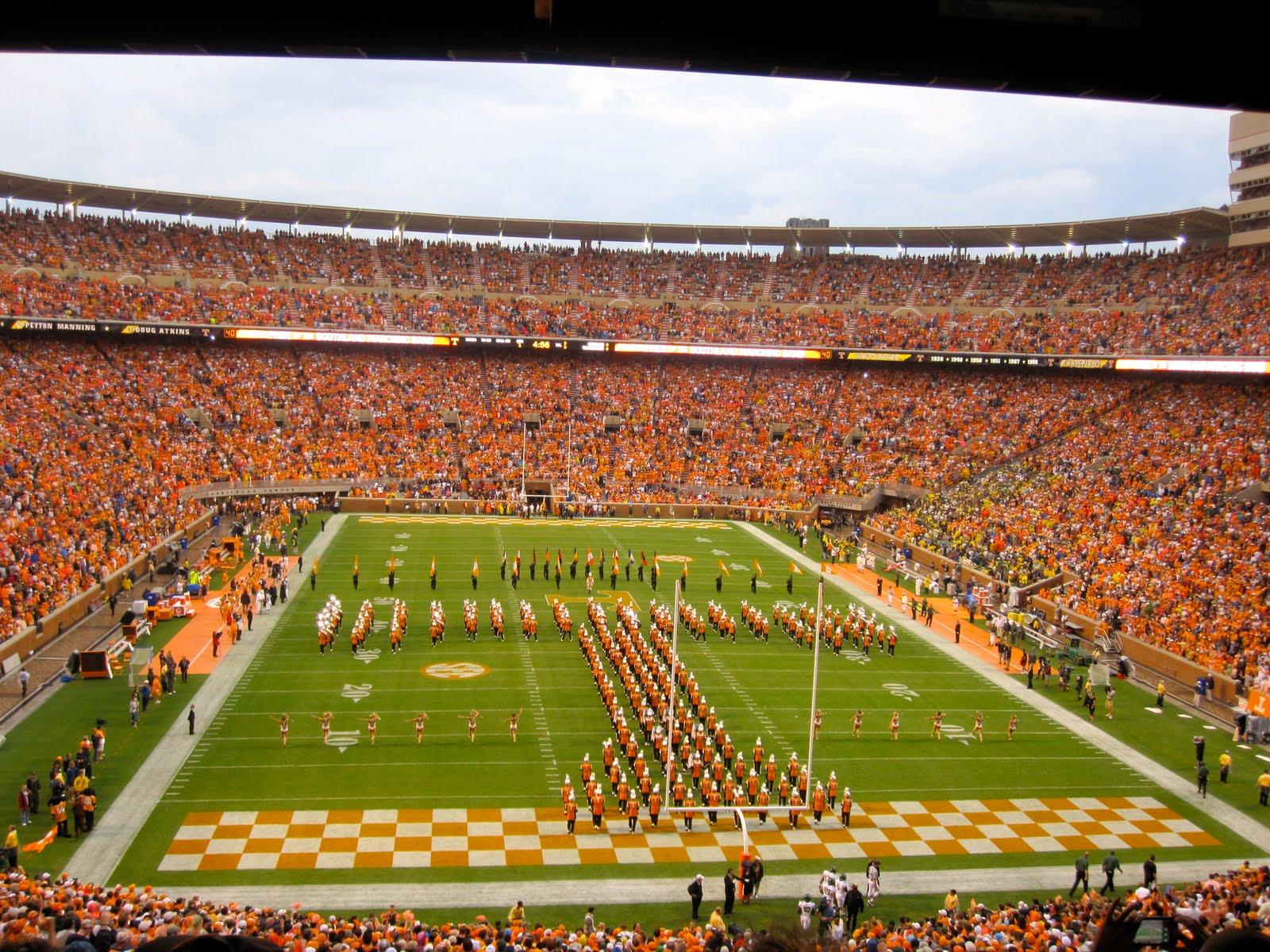 University of Tennessee Football Neyland Stadium