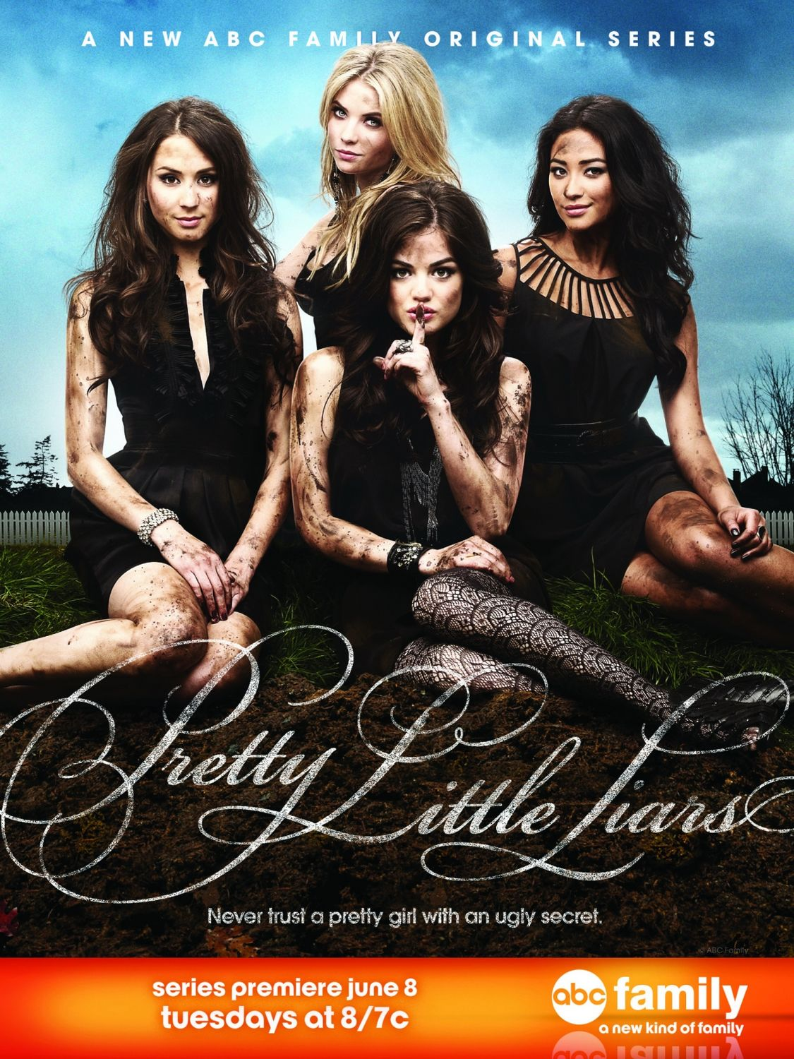 Pretty Little Liars 1ª Temporada Dublado Completo