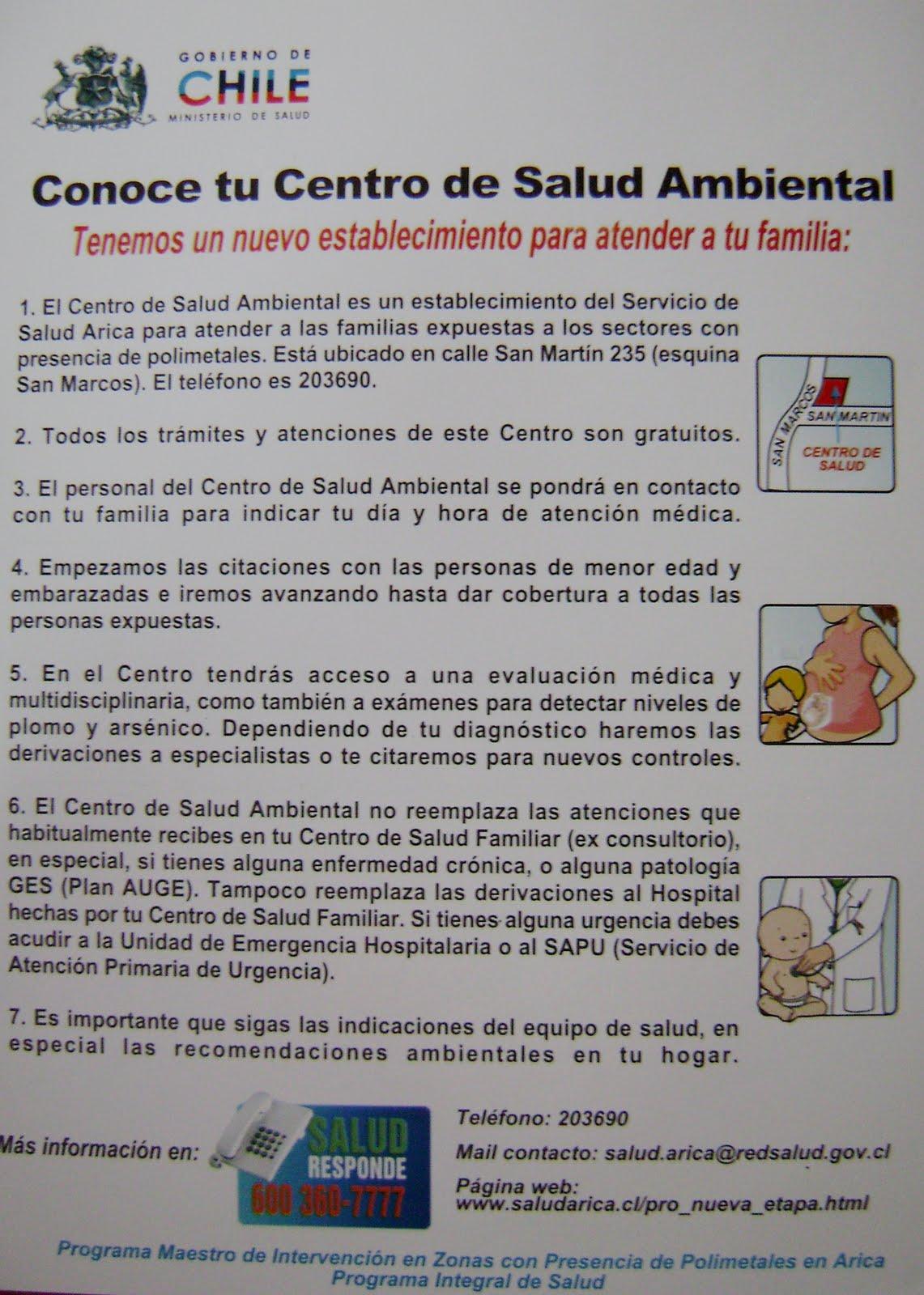 Polimetales informaci n y noticias centro de salud ambiental - Centro de salud aravaca ...