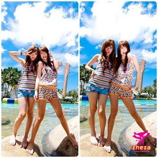 ภาพ หลุด สองสาว เล่นกัน ริมหาด จาก zheza.com