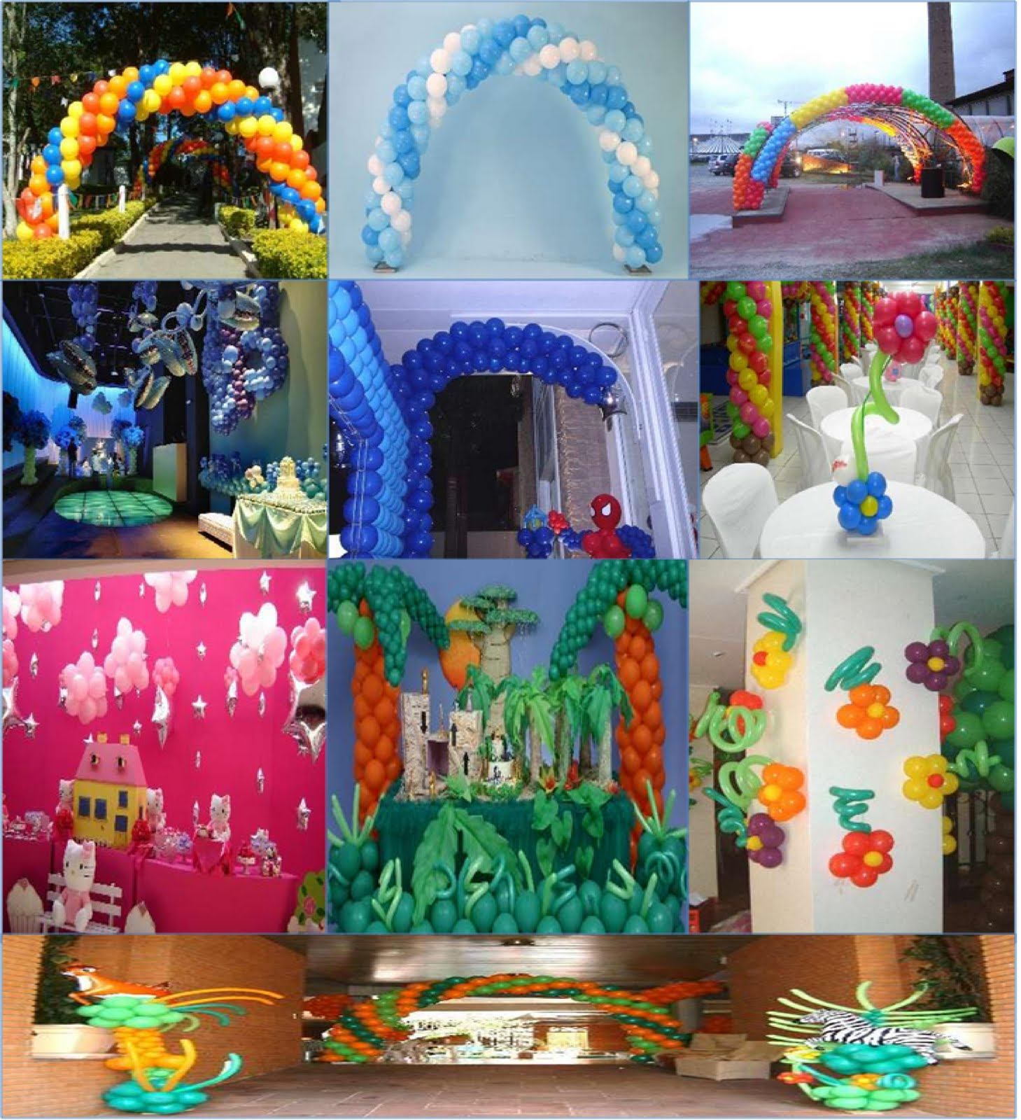 Decoracion cumplea os adultos for Globos decoracion fiestas