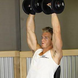 Exercice de musculation pour les épaules-Arnold dumbbell press