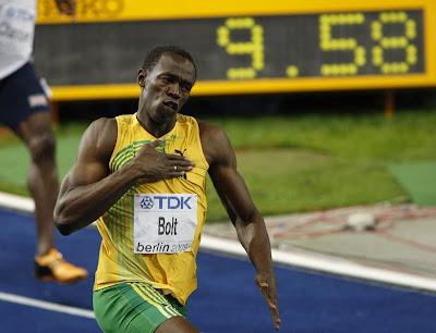 quel est le sprinter l'homme le plus rapide dans le monde?