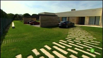 photos résidence garage des voiture pour cristiano ronaldo