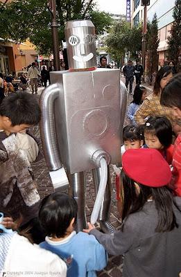 esculturas de robots