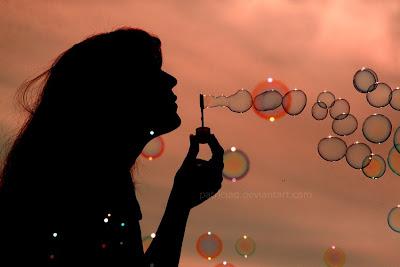 حباب های زیبا