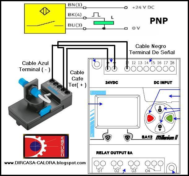 Como se conecta un sensor a un plc dircasa proveedor - Como conectar un sensor de movimiento de tres cables ...