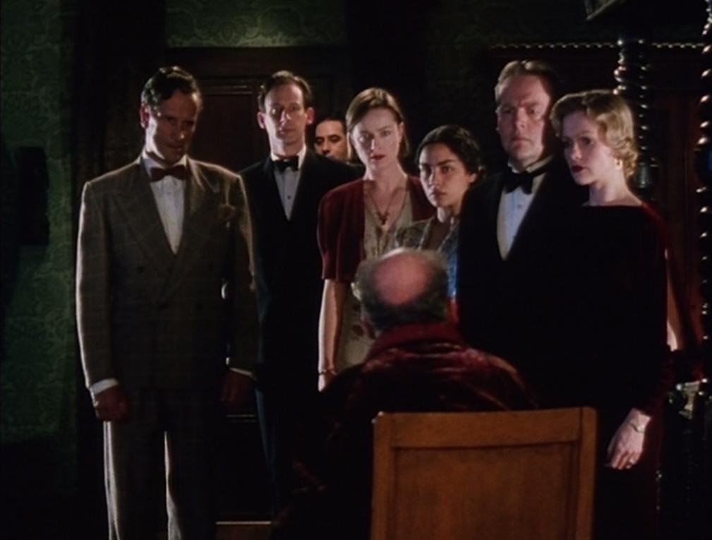 Hercule Poirot's Christmas (Edward Bennet, 1995) | More Man than ...