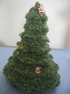 Ravelry: White Christmas Tree Crochet Pattern pattern by
