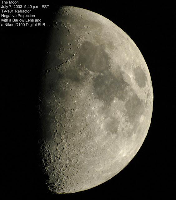 070703 3w Moon Lunar Images