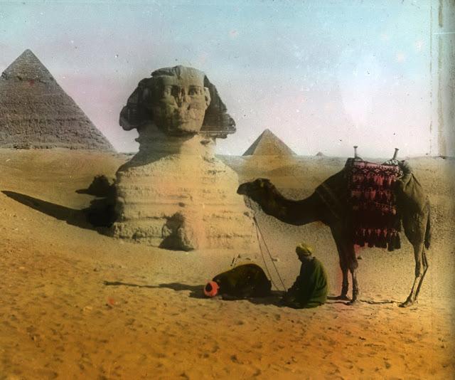 Antiguo Egipto antiguas fotos.