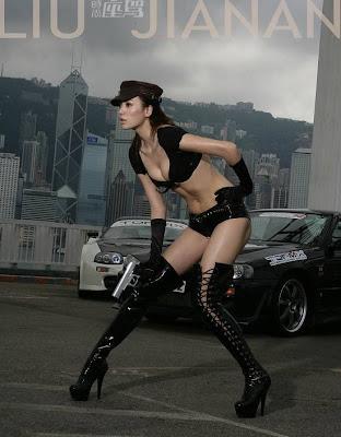 wild sexy asian girl