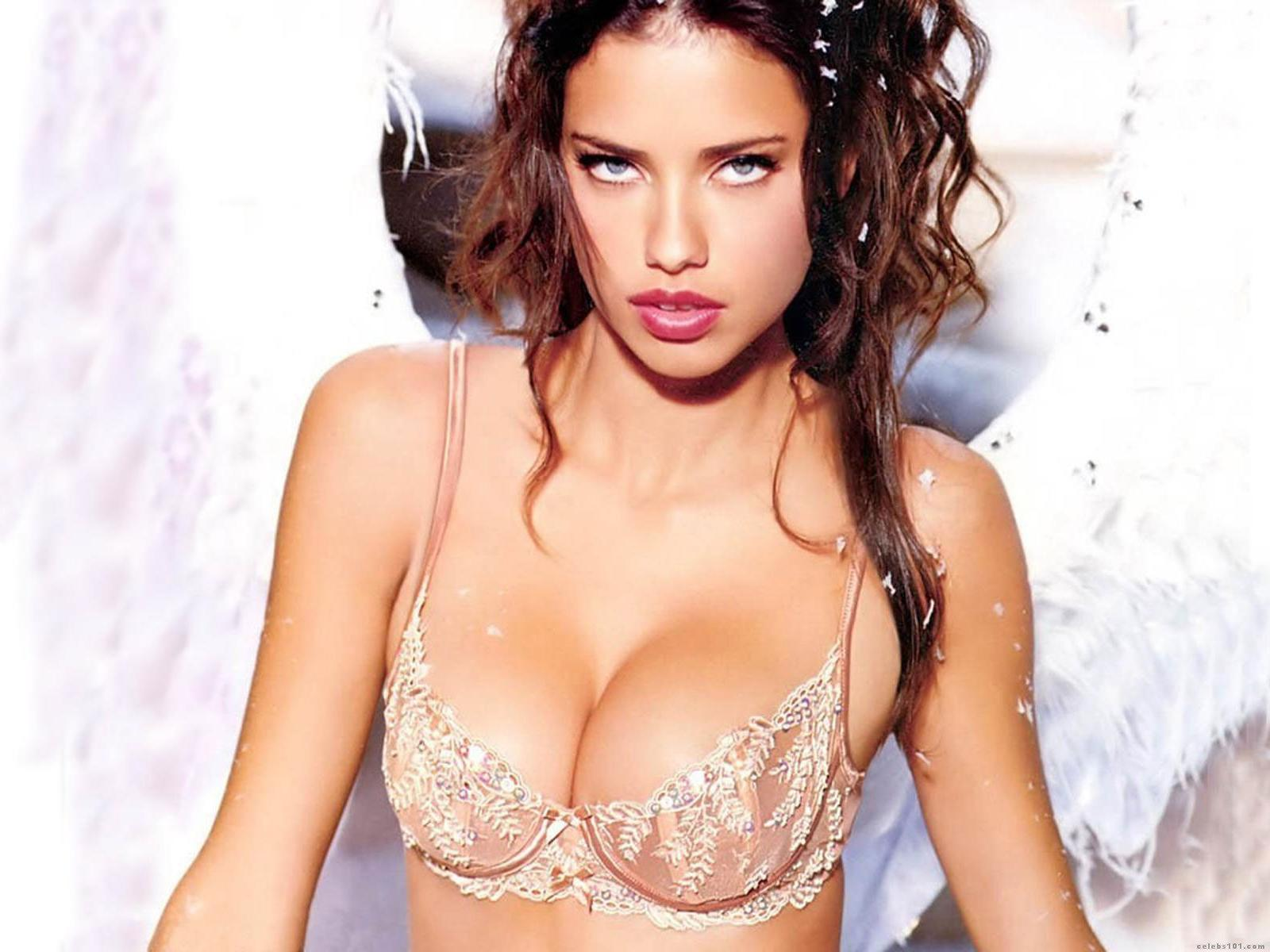 Adriana Lima Wallpapers Hot Girl Very Sexy in Bra Without Clothes ...