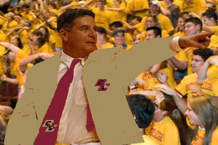 Bruce Pearl at Boston College