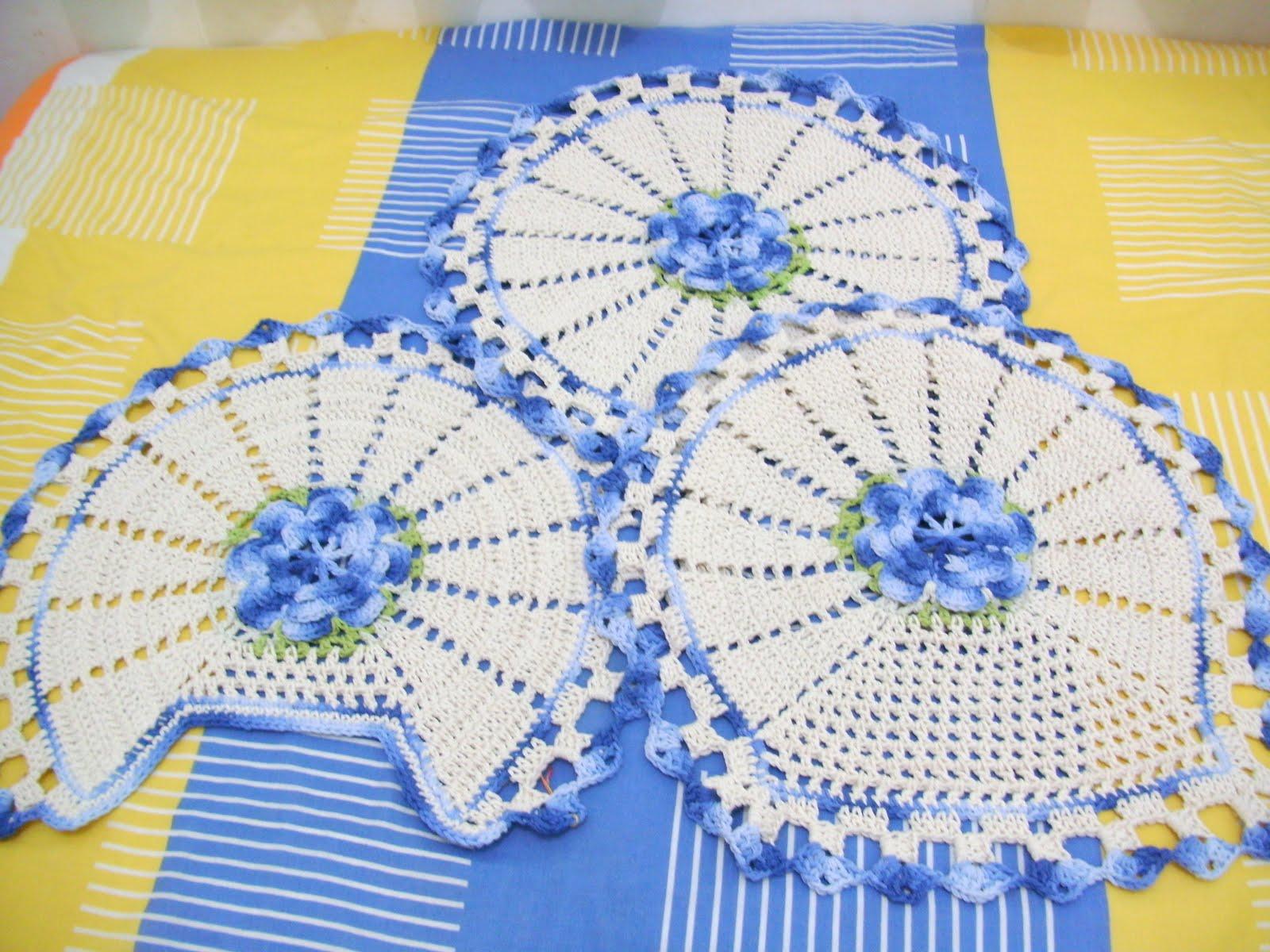 Crochês da Elizandra: Jogo de banheiro #A38F28 1600 1200
