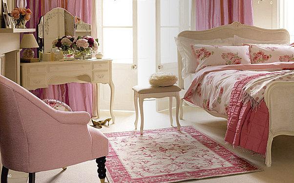 English deco club laura ashley - Dormitorios vintage chic ...