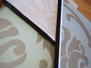 modern bird silhouette canvases...an easy and fun tutorial