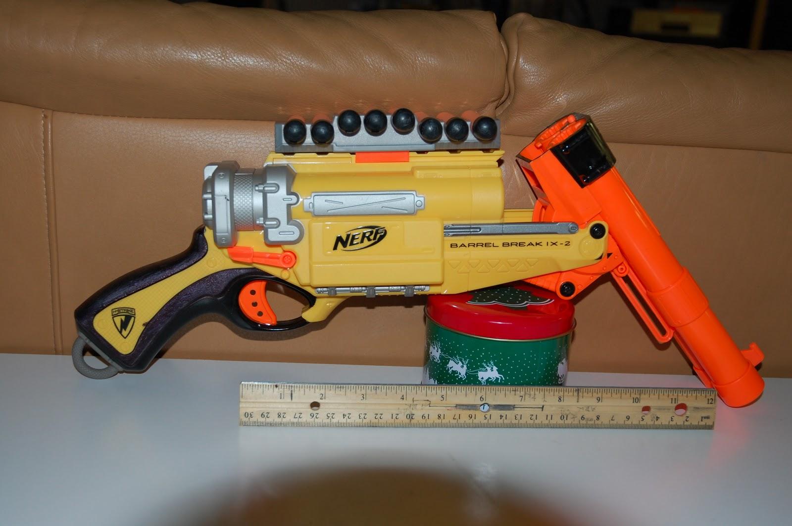 Toys R Us Nerf Guns : Nerf gun reviews barrel break ix