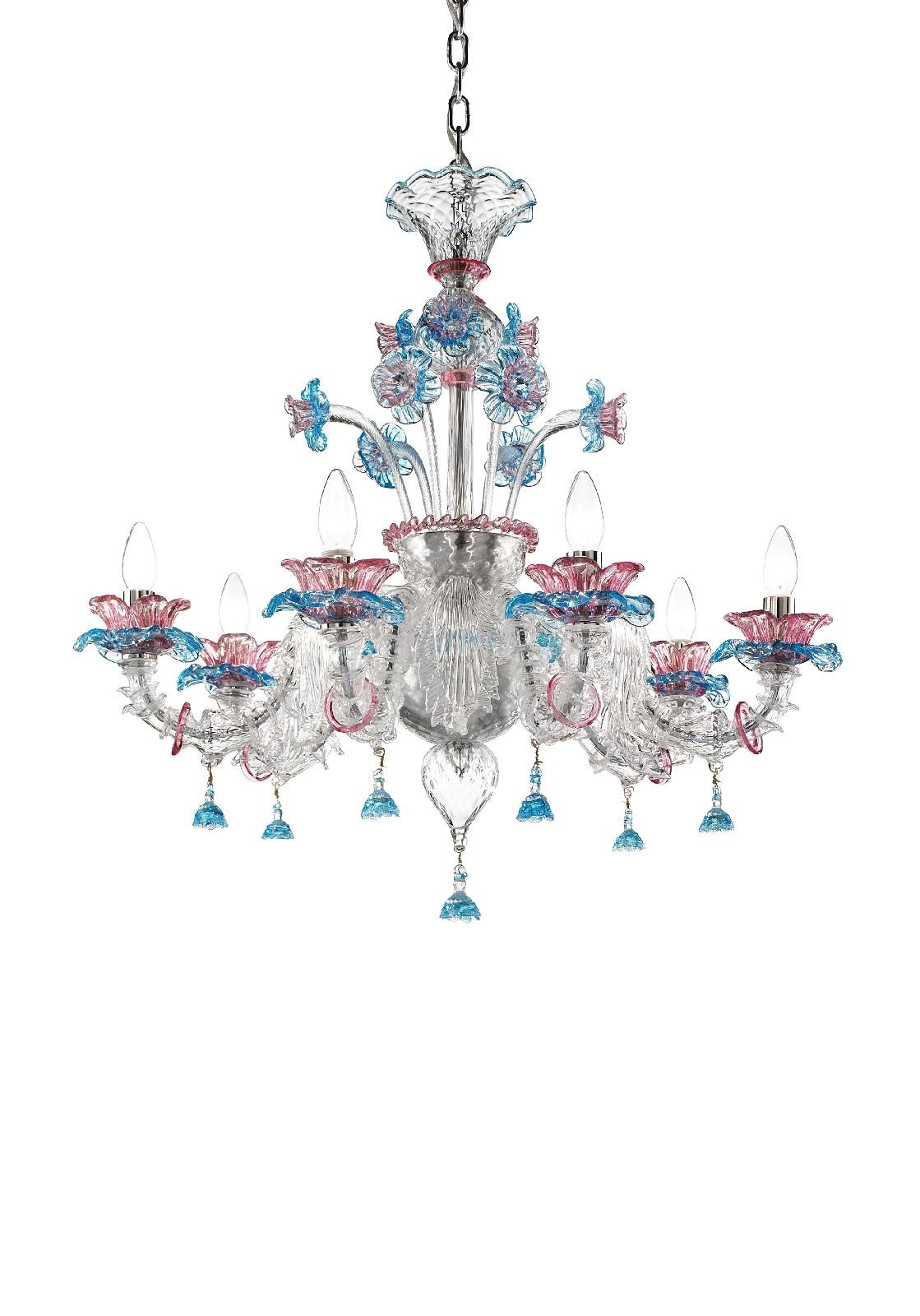 lampadari in vetro di murano murano blown glass chandelier lustre en verre de murano dicembre. Black Bedroom Furniture Sets. Home Design Ideas