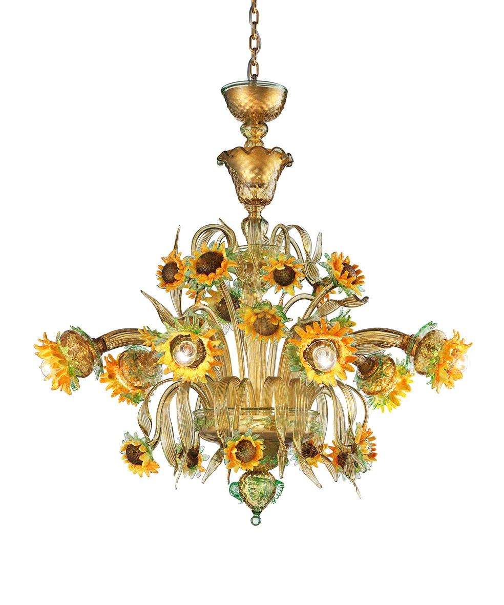 lampadari in vetro di murano murano blown glass chandelier lustre en verre de murano genuine. Black Bedroom Furniture Sets. Home Design Ideas