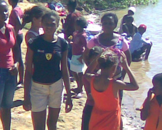 Alunos da escola Nossa Senhora de Fátima