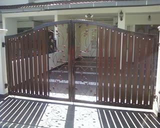 Gates Wrought Iron Fence Poly Skylight Awning