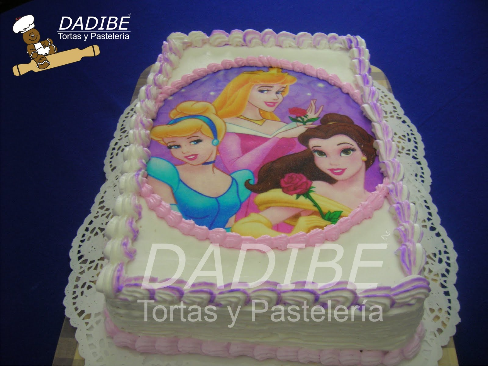 Tortas Dadibe: Torta Princesas