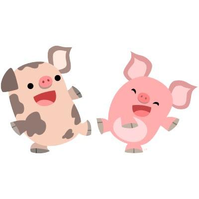 cute pigs cartoon wallpaper - photo #31