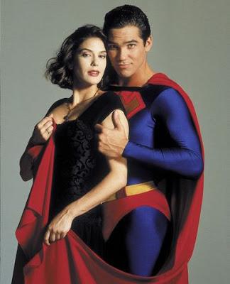 Superman con una Mujer