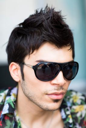 Latest fashion hairstyle for men