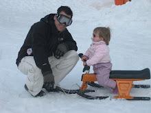 La primera skiada Sílvia