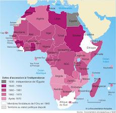 Les indépendances africaines