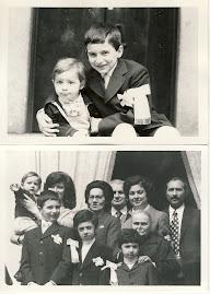 """Comunione dello """"zio Paolo""""con il nipotino Max"""